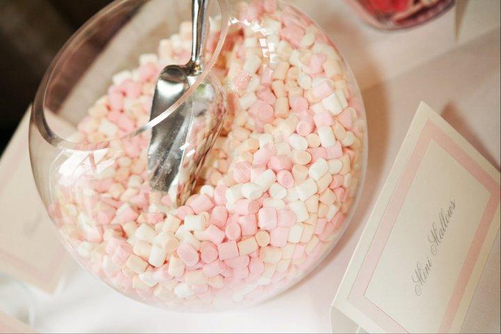staklena kugla slatkiši dekoracija