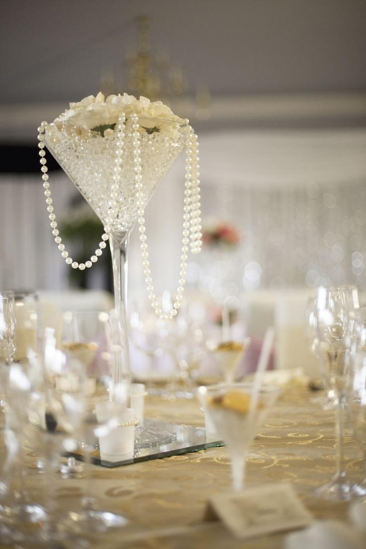Margarita Glass Table Centerpiece Topsimages