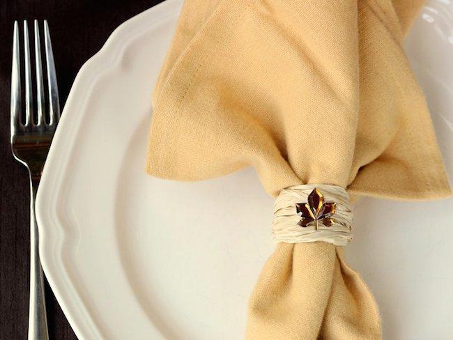 rafija prsten za salvete