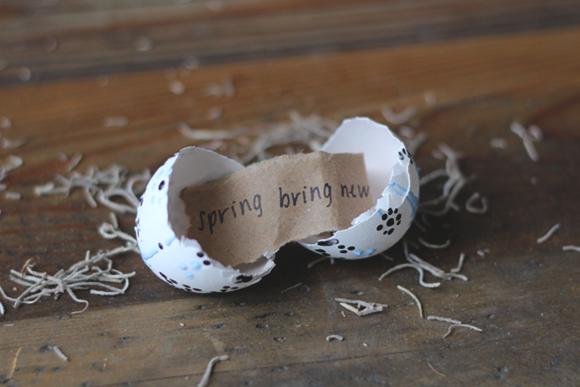 poruka u jajetu