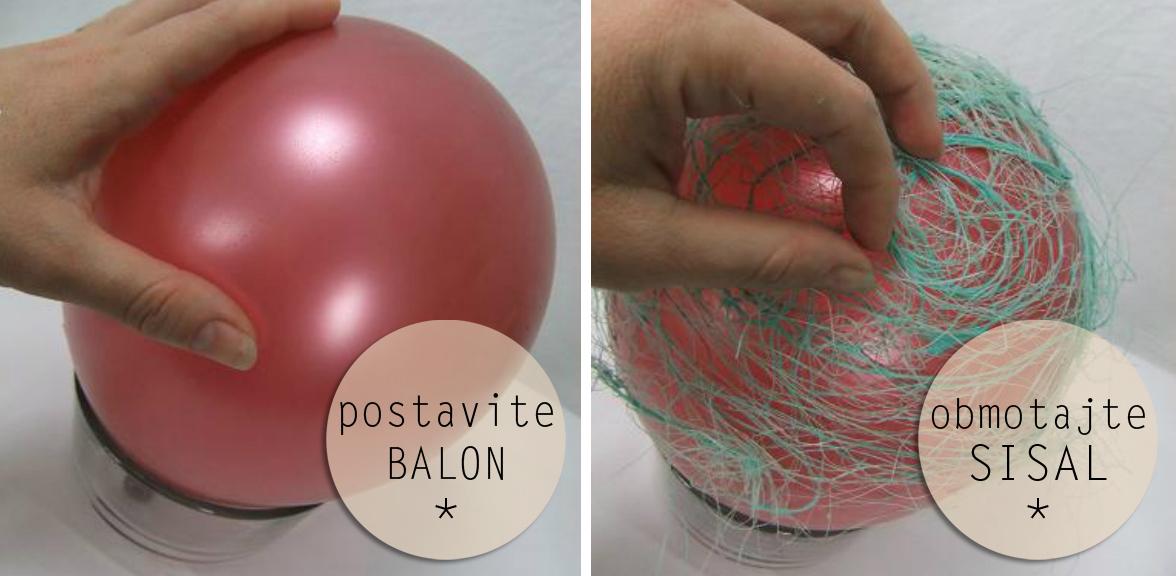 sisal balon